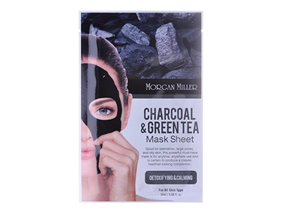 Charcoal & Green Tea sheet mask