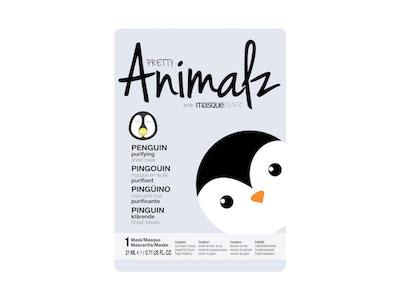 Pretty Animalz Purifying Penguin Sheet Mask