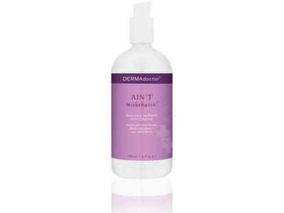 Ain't Misbehavin' Medicated AHA/BHA Acne Cleanser