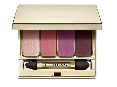 Clarins 4-Colour Eyeshadow Palette, 07-Lovely Rose