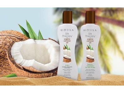 BioSilk Silk Therapy & Organic Coconut Oil Collection