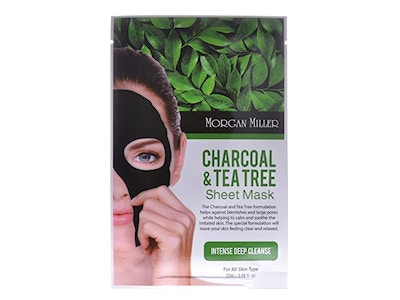 Charcoal & Tea Tree Sheet Mask