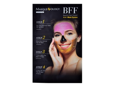 BFF Beautiful Face Forever! 4 in 1 System Mask