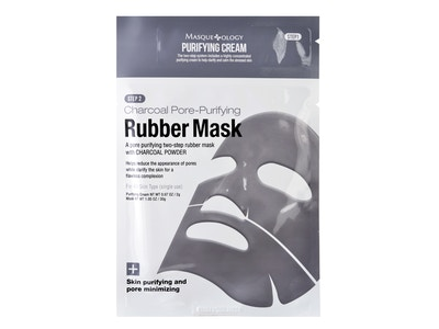 Charcoal Pore-Purifying Rubber Mask