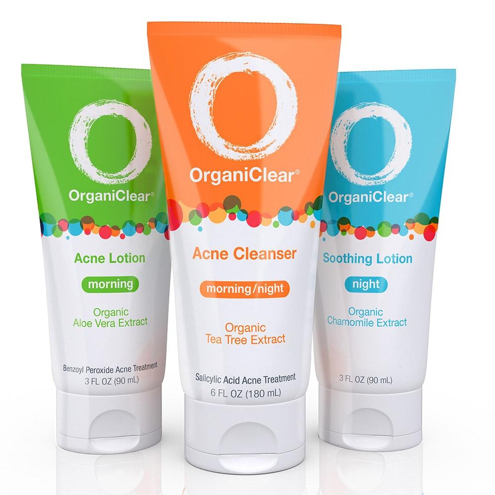 OrganiClear Acne Treatment System Vivo Per Lei Facial Peeling, 1.7-fluid Ounce (4)