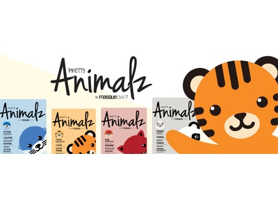 4 Pack Bundle: Pretty Animalz Sheet Masks by Masque Bar
