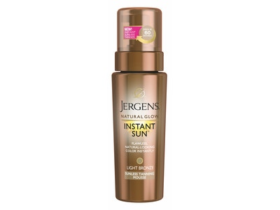 Jergens Natural Glow Instant Sun Sunless Tanning Collection