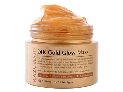 KAZU 24K Gold Glow Mask
