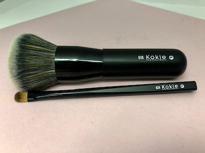 Buffing Foundation Brush And Small Precision Shader Brush