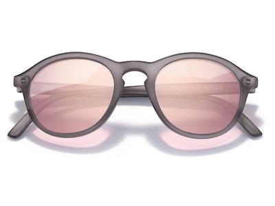Singlefin Sunglasses in Grey Rose