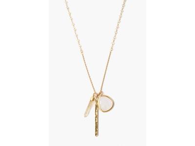 Ethiopian Opal Charm Necklace