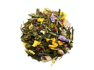 Paris for her, green tea with rose, raspberry and lychee