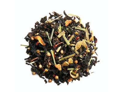 Paris for him, black tea with citrus, coriander and vanilla