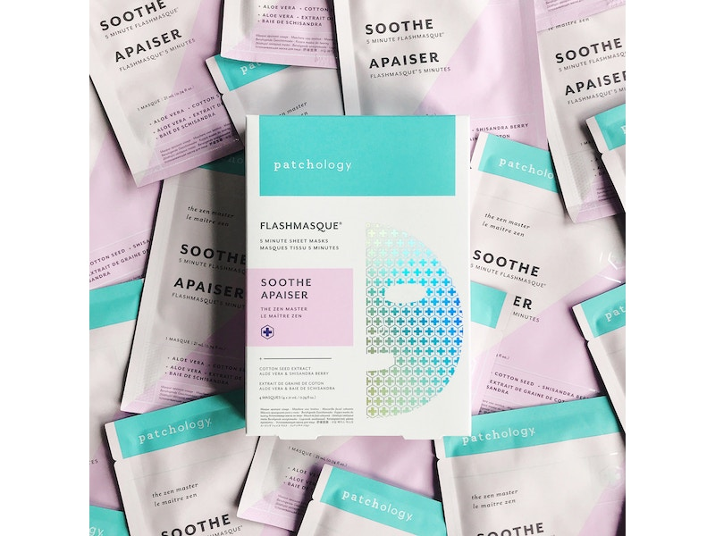 FLASHMASQUE® SOOTHE 5 MINUTE SHEET MASKS (4 PACK)