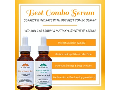 Best combo Serum for anti aging and reduce dark spot