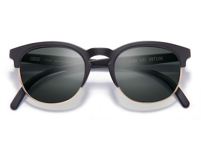 Avila Sunglasses in Black/Slate