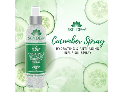 Hydrating Facial Spray with Cucumber