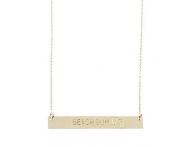 Identity Bar Necklace - Stay Wild