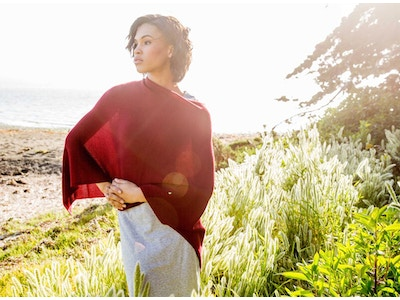 Essential Poncho | Organic Cotton