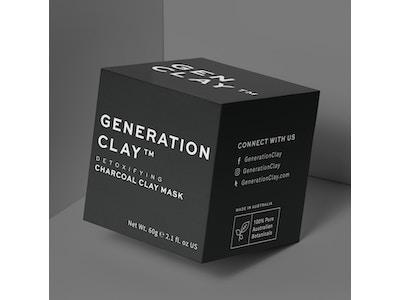 Detoxifying Charcoal Clay Mask - Generation Clay