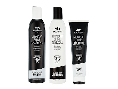 CHARCOAL CLARIFYING SHAMPOO CONDITIONER AND HAIR MASK
