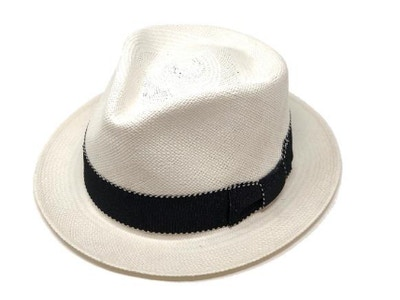 Diamond Breve Panama Hat