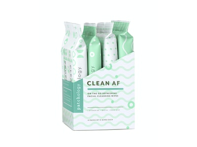 CLEAN AF FACIAL CLEANSING WIPES (4 PACK)
