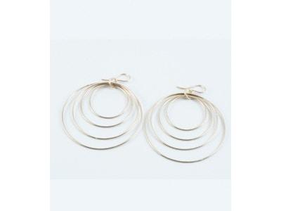 Quadrant Hoop Earring