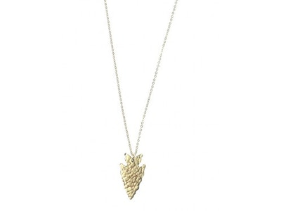 Mini Pure Arrowhead Pendant Necklace