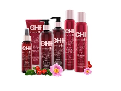 CHI Rose Hip Oil Haircare Collection
