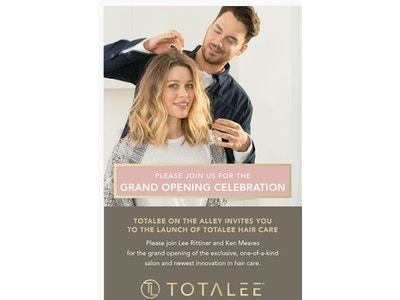 TOTALEE Hair Care Launch Party