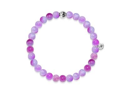 Love | Silver Essence Multi-Colored Jade Bracelet