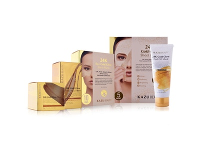 KAZU Beauty Lift, Firm, and Glow 24k Gold Collection