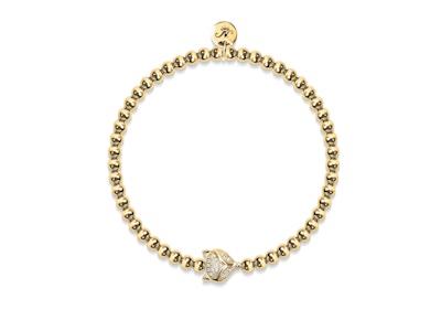 Vixen | 18k Gold | Crystal Fox Bracelet