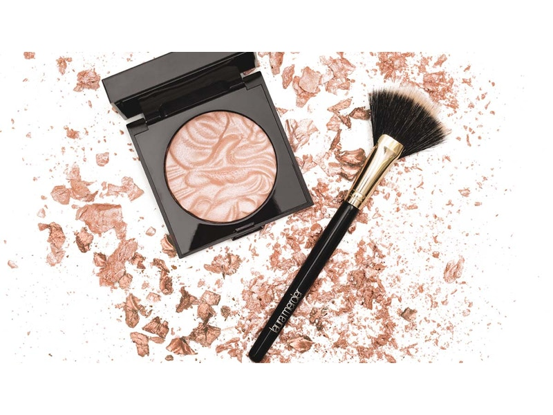 Bundle: Face Illuminator & Fan Brush