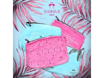 Shaina B. Miami Spill Proof Makeup Bag