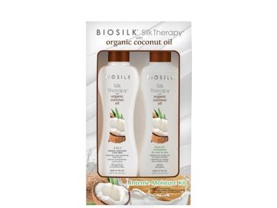 BioSilk Silk Therapy Organic Coconut Intense Moisture Kit