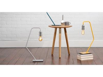 Starkey Tischlampe in Senfgelb von MADE.COM
