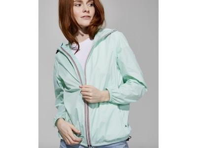 Mint Full Zip Packable Jacket