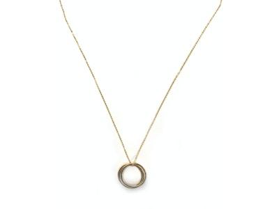 Triple Circle Necklace