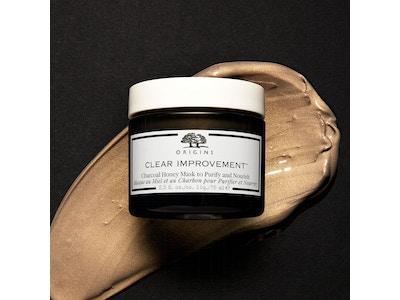 Clear Improvement - Masque au Miel et au Charbon pour Purifier et Nourrir