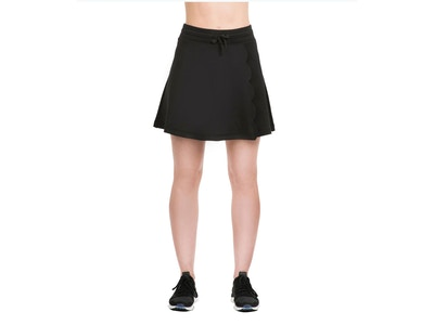 Scalloped Skirt - Color Black - Size Small