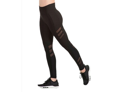 Netted Legging - Color Black - Size Small