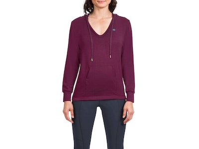 Netted Hoodie- Color Plum or Navy- Size Small