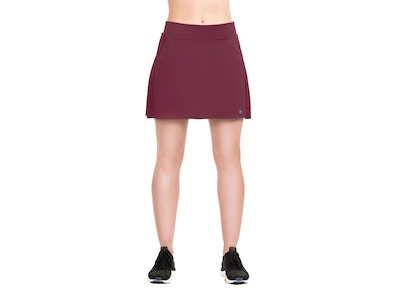 Netted Pleated Skort - Color Plum or Navy/Azure - Size Small