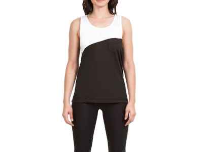 Times Two Tank - Colors Black/White - Size Small