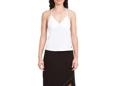Scalloped Cami - Color White or Black - Size Small