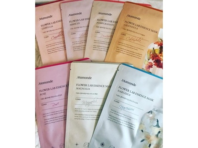 Hibiscus, Camellia, & Pomegranate Lab Essence Sheet Mask Set