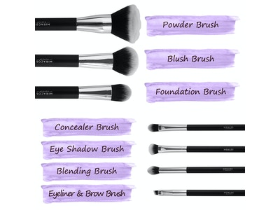 Kitty Essential Cat Lady 7-Piece Makeup Brush Kit