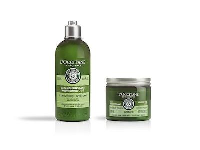 Shampoo e Maschera all'Olio d'Oliva della linea Nutriente Aromachologie